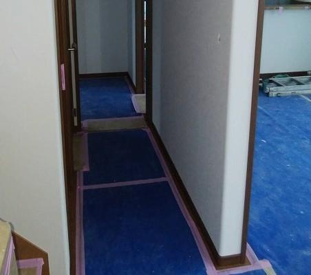 施工後:廊下